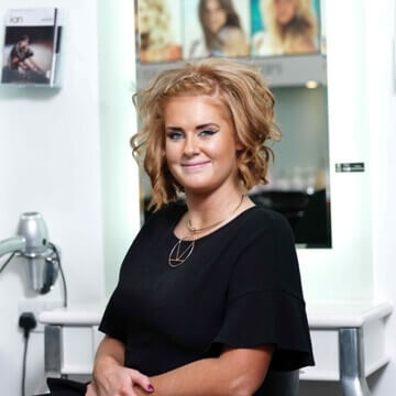 Alex at MacGregor Hairdressing and Beauty Edinburgh