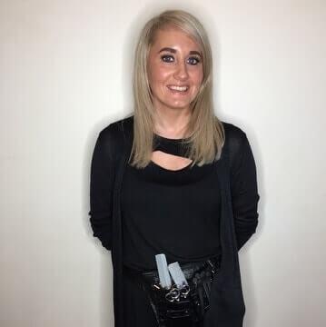 Lynne at MacGregor Hairdressing and Beauty, Morningside, Edinburgh
