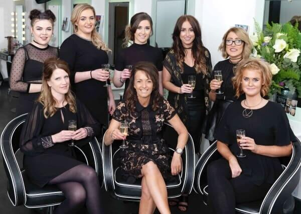 staff team at MacGregor Hairdressing and Beauty, Edinburgh