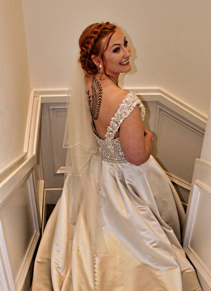 bridal hairdressing edinburgh