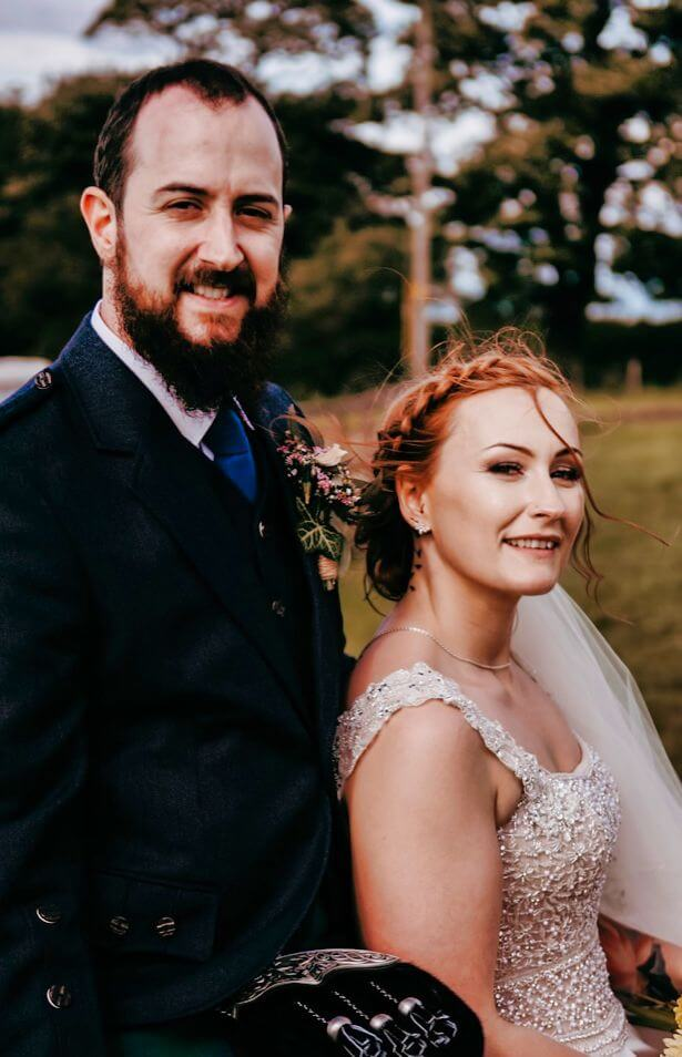 wedding hairdresser edinburgh