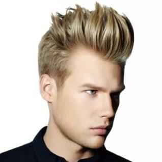 men's hair styling